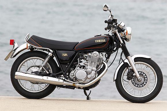 Yamaha Sr 400 Test Motorevija