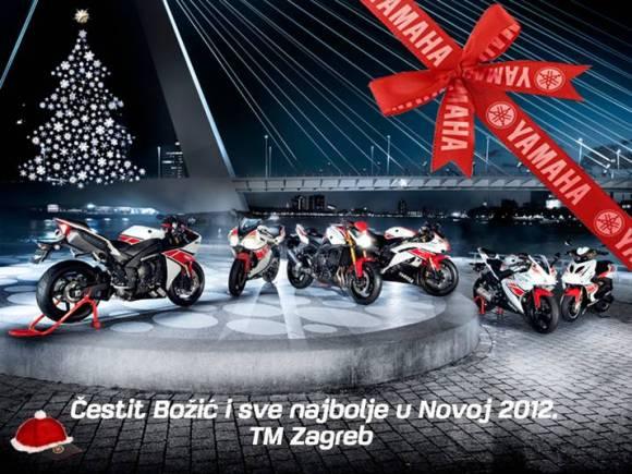 božićna čestitka 2011 Yamahina božićna čestitka   Novosti   Motorevija božićna čestitka 2011